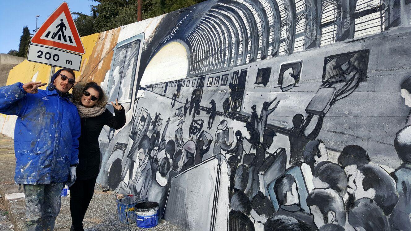 Comune di catanzaro news for Murales para fotografia